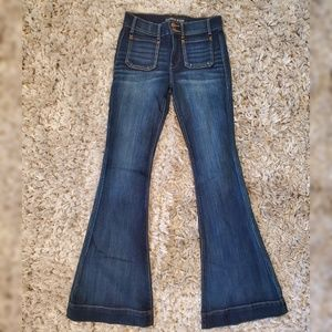 Express flair jeans size 4